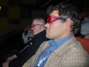 Centré sur l'innovation, le congrès s'ouvre par un film d'environ 4 minutes à voir en 3D (d'où les lunettes), censés évoquer cette thématique. On y voit en réalité uniquement des formes évoluant dans l'espace (en trois dimensions en effet), composant finalement, après moult mouvements, le sigle CFE-CGC.